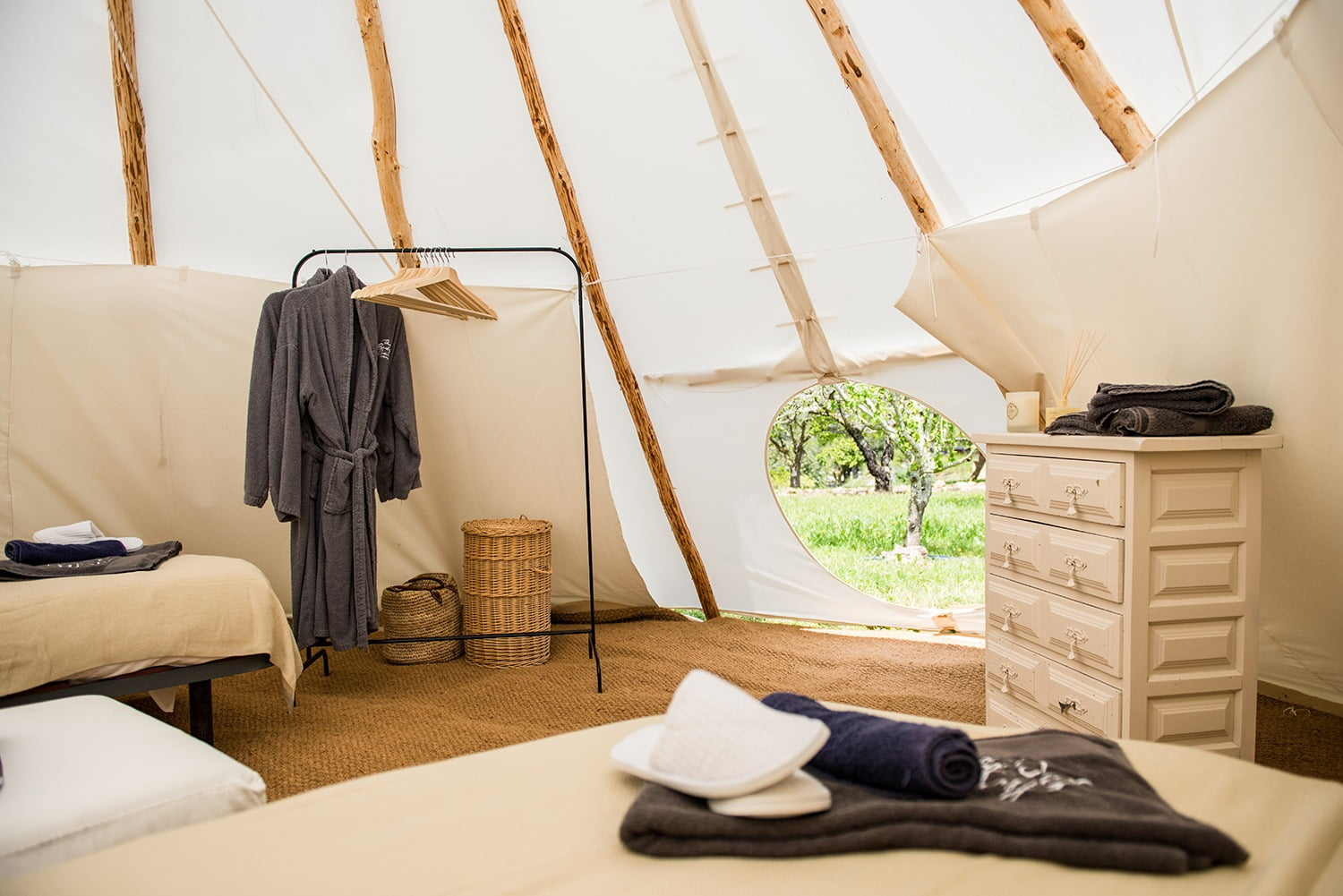 Tipi Clothes Storage